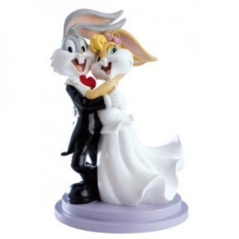 "Tortenaufsteller Brautpaar ""Looney Tones"""