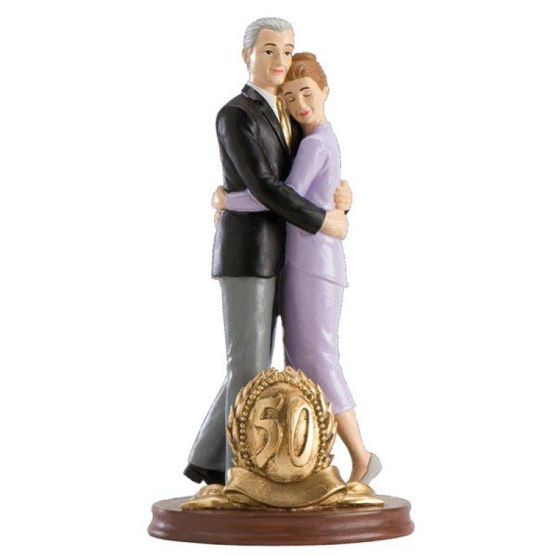 """Tortenaufsteller Brautpaar """"Goldene Hochzeit"""""""